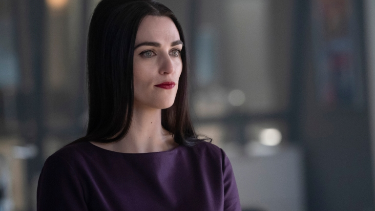 Katie McGrath as Lena Luthor on Supergirl