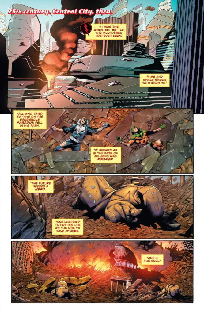 The Flash #754 Page 1