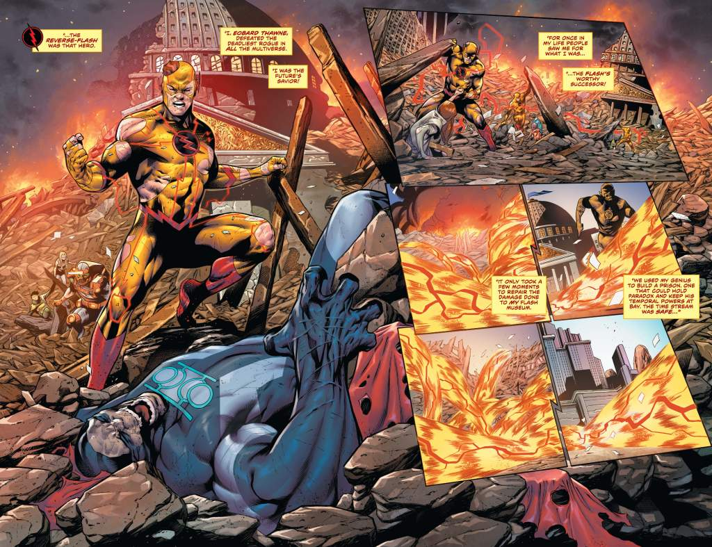 The Flash #754 page 2
