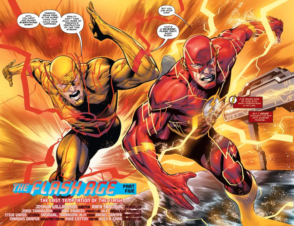 The Flash #754 Page 3