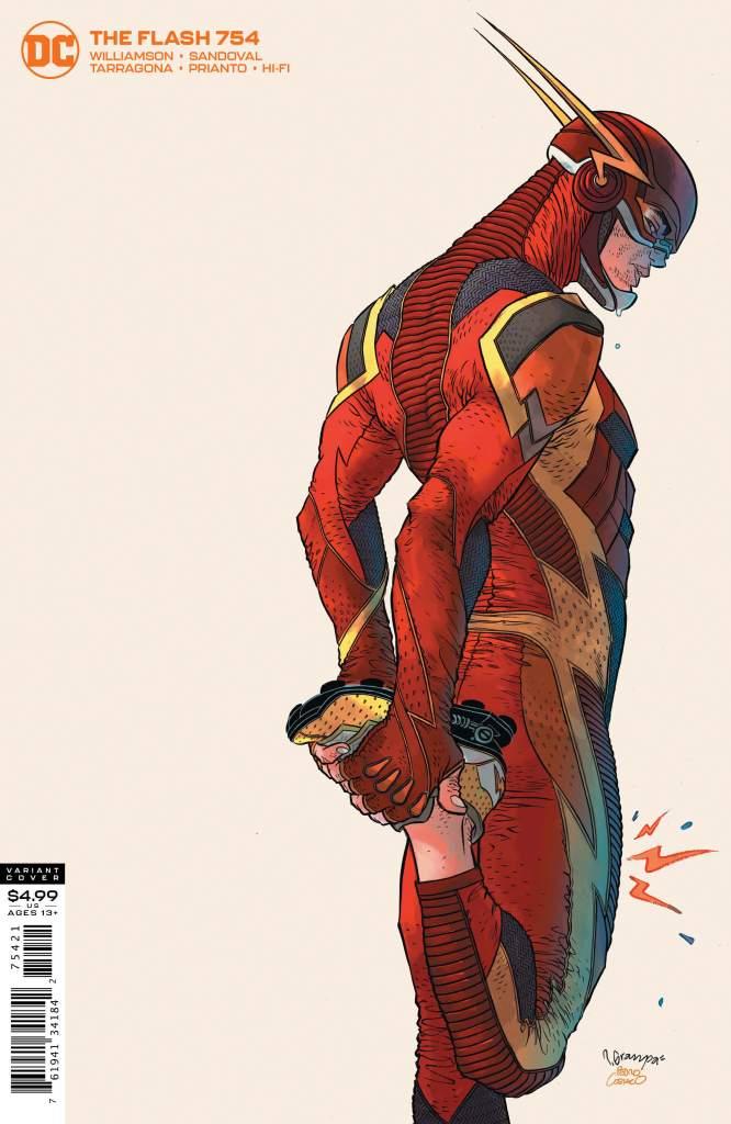 The Flash #754 Rafael Grampa Variant Cover