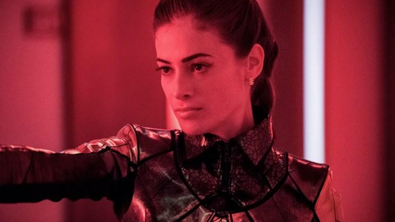 Efrat Dor as Mirror Mistress on The Flash