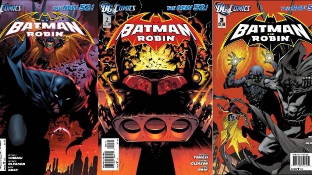 New 52 Batman and Robin