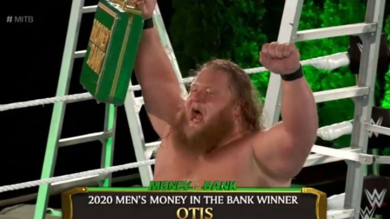 Otis Wins at WWE Money in the Bank 2020