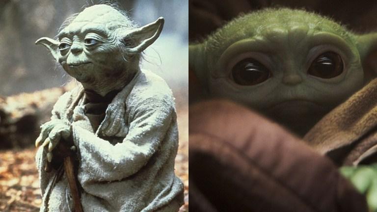 Yoda and Baby Yoda