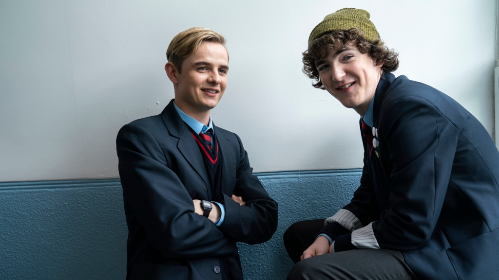 Alex and Tom Alex Rider