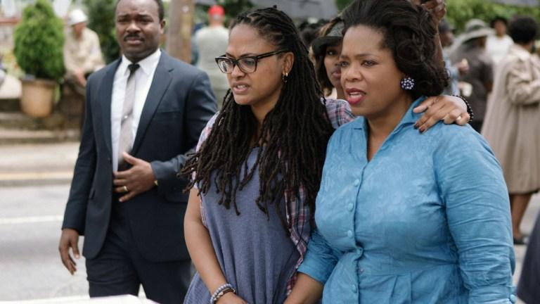 Ava DuVernay, David Oyelowo and Oprah on Selma Set