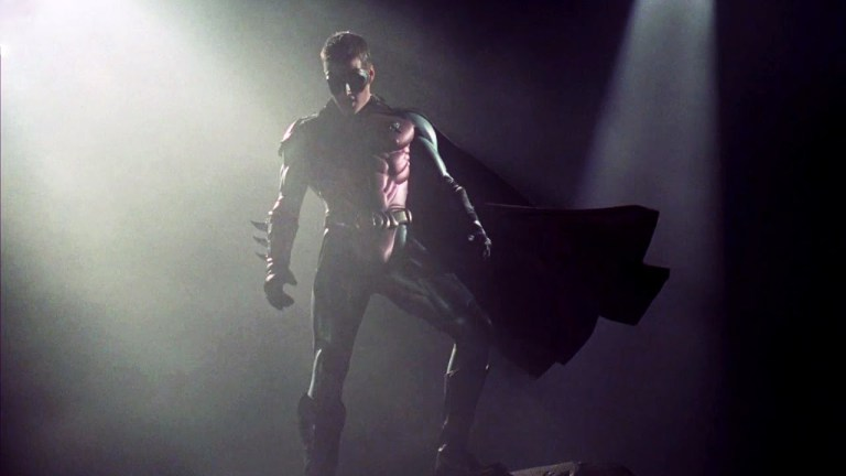 Chris O'Donnell as Robin in Batman Forever
