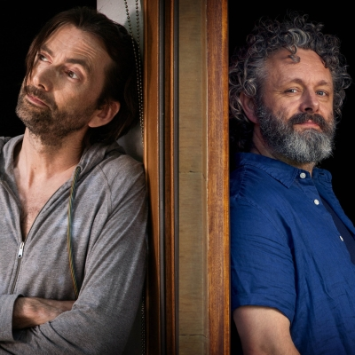 David Tennant Michael Sheen Staged BBC