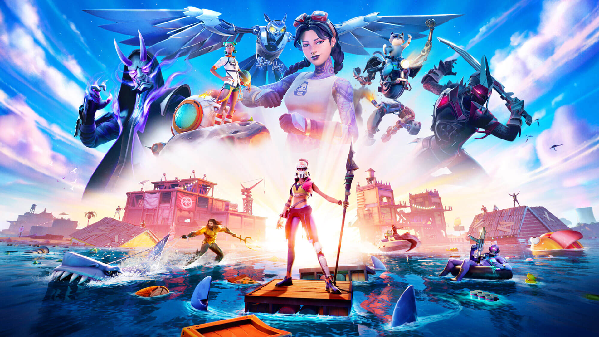Fortnite Chapter 2 Season 3 Trailer Battle Pass Skins Patch Notes And News Den Of Geek