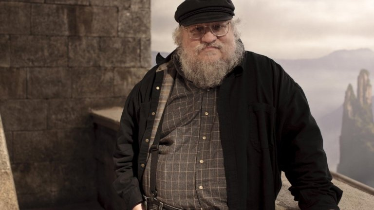A Picture Of George R.R. Martin