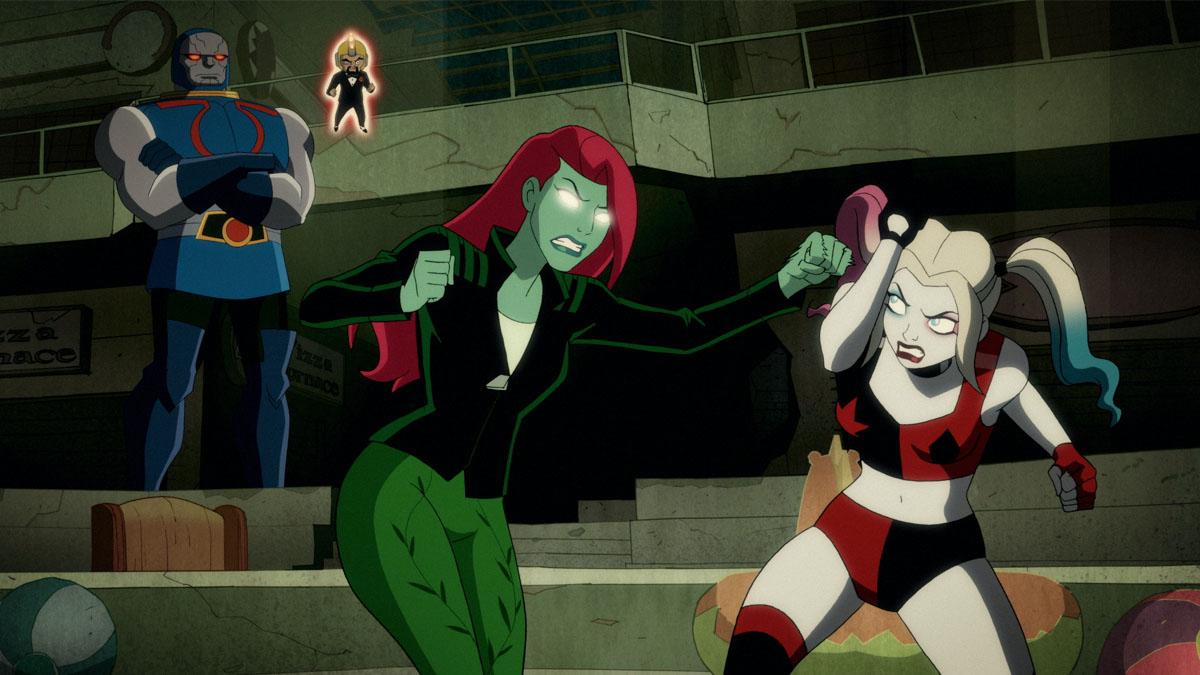 Cartoon porn quinn harley Harley Quinn