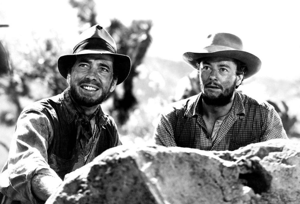 Humphrey Bogart in The Treasure of Sierra Madre