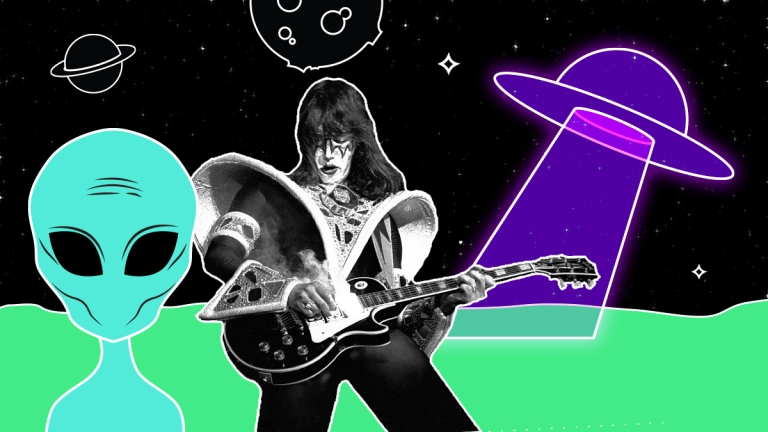 Ace Frehley UFOs and Ghosts