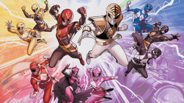 Mighty Morphin Power Rangers Issue 50 Cover