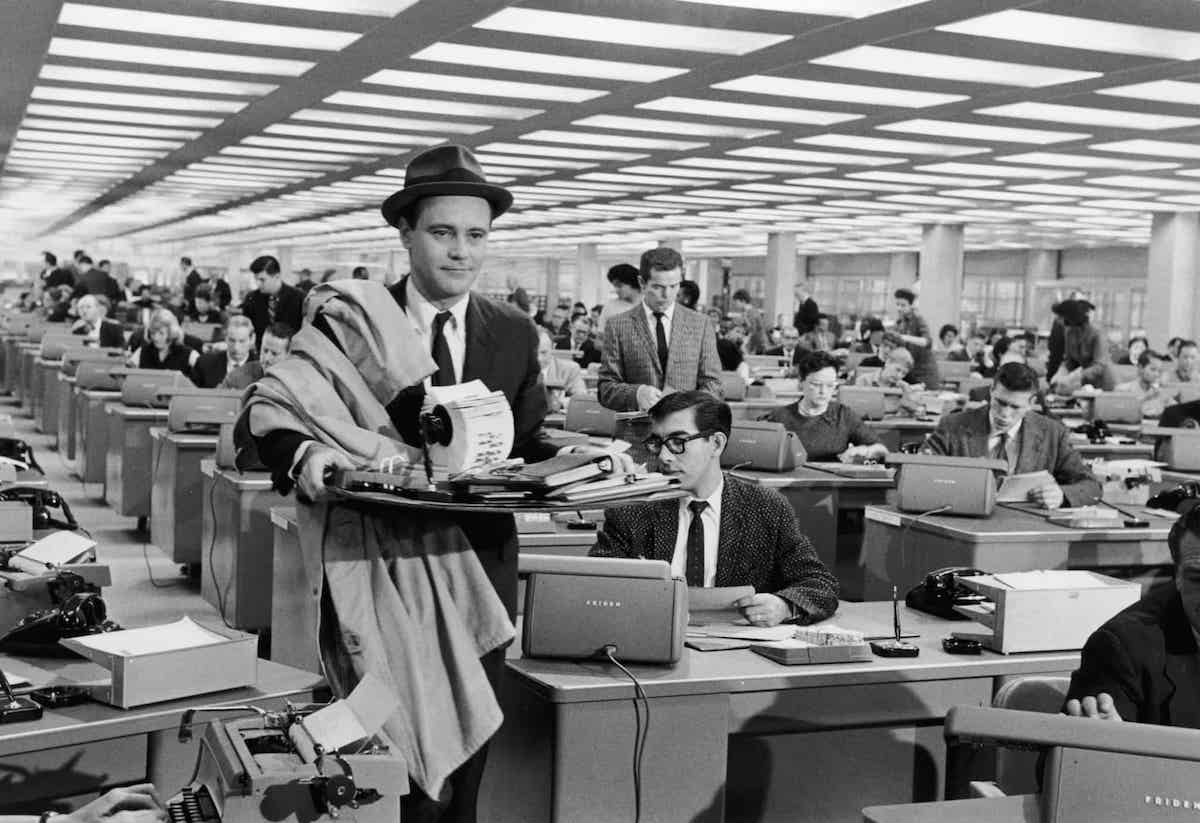 How The Apartment Shaped Cinema's View of the Workplace