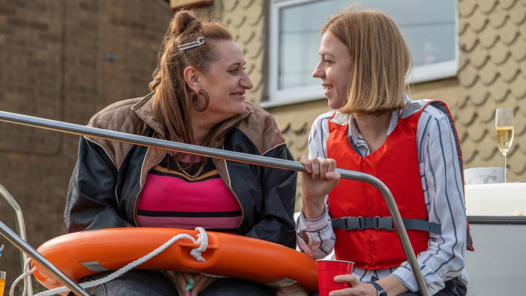The Other One Lauren Socha Ellie White BBC Comedy