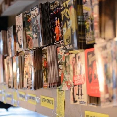 Comic Book Store Shelves