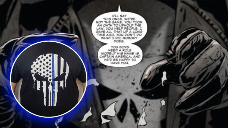 The Punisher Hates Cops
