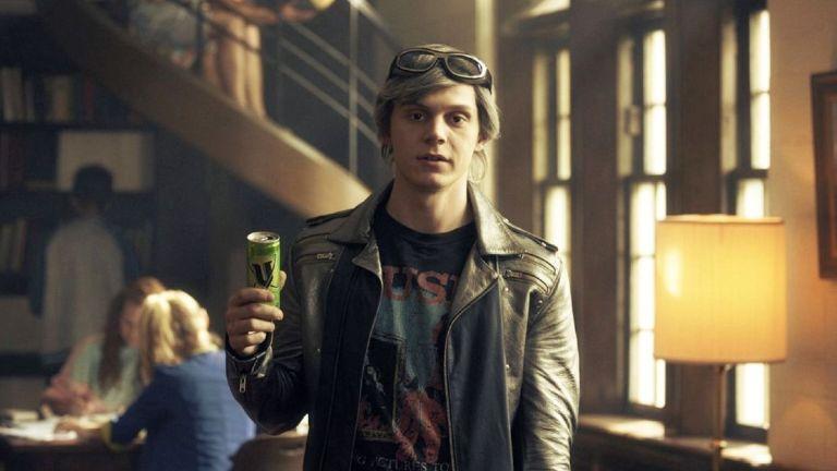 Evan Peters As Quicksilver In X-Men