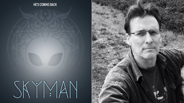 Skyman poster and director Daniel Myrick