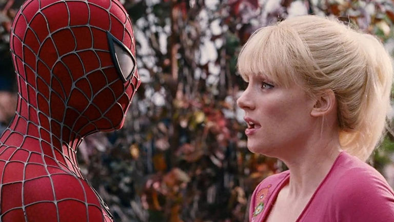 Tobey Maguire and Bryce Dallas Howard in Spider-Man 3
