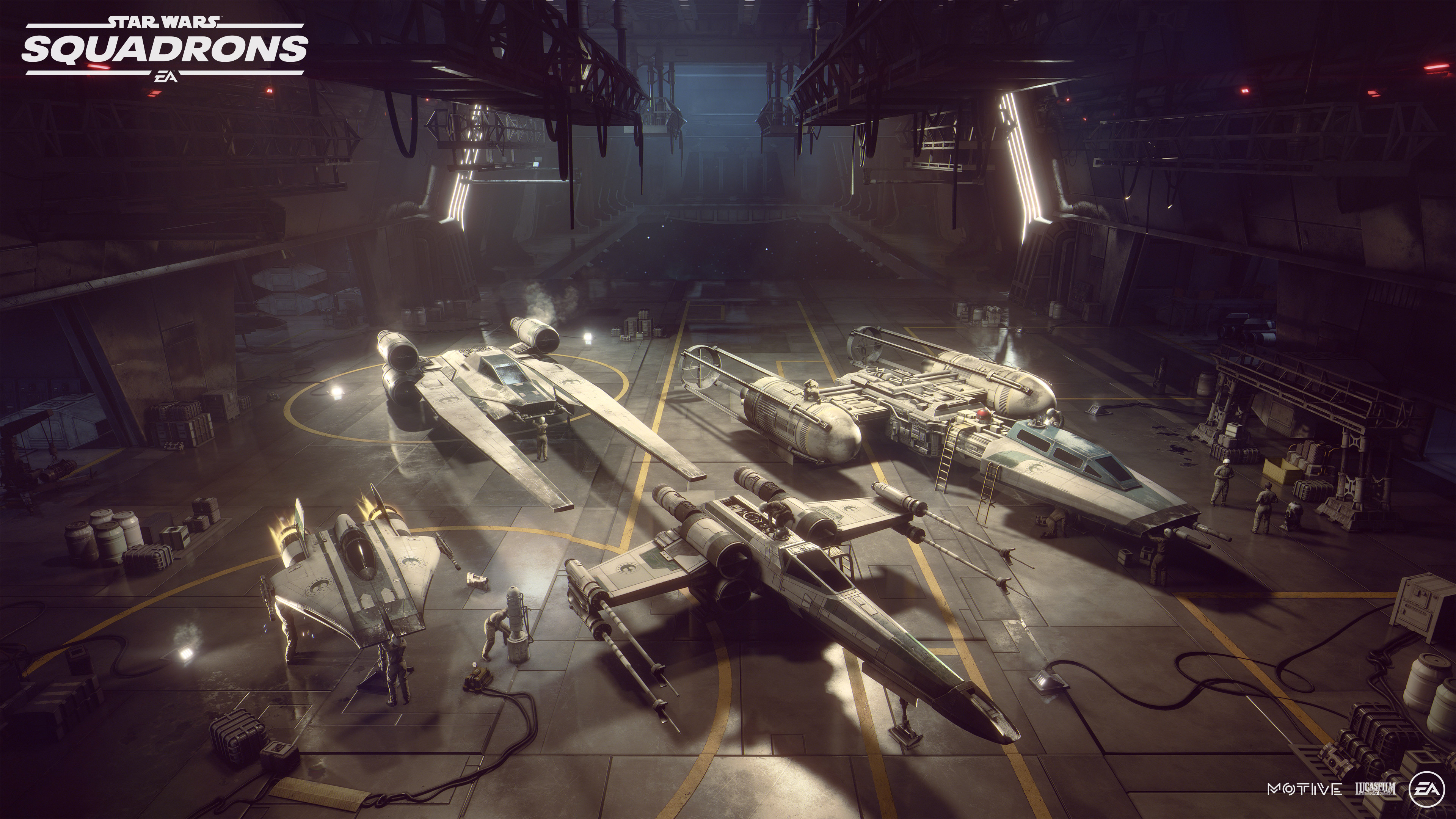 Star Wars Squadrons Ships: The Origin and Specs of Every Starfighter   Den of Geek