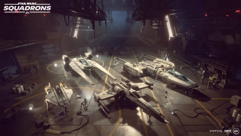 Star Wars Squadrons Ships