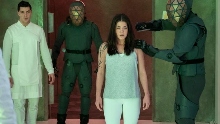 Octavia in The 100 Season 7 Episode 5