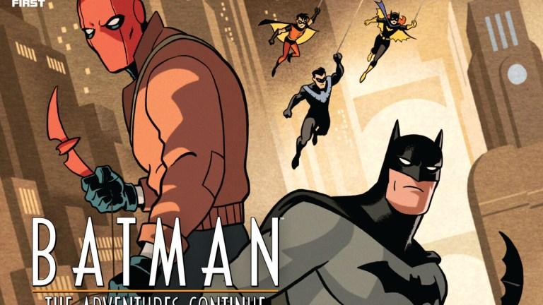 Batman: The Adventures Continue Red Hood