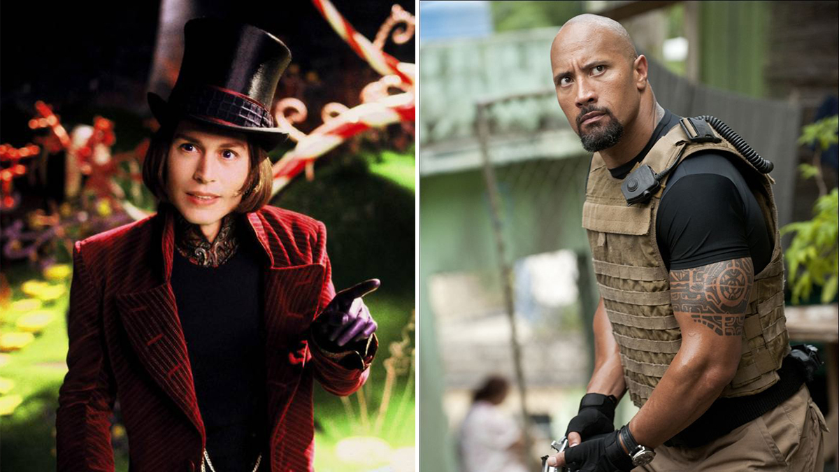 Dwayne Johnson Reveals He Almost Played Willy Wonka for Tim Burton