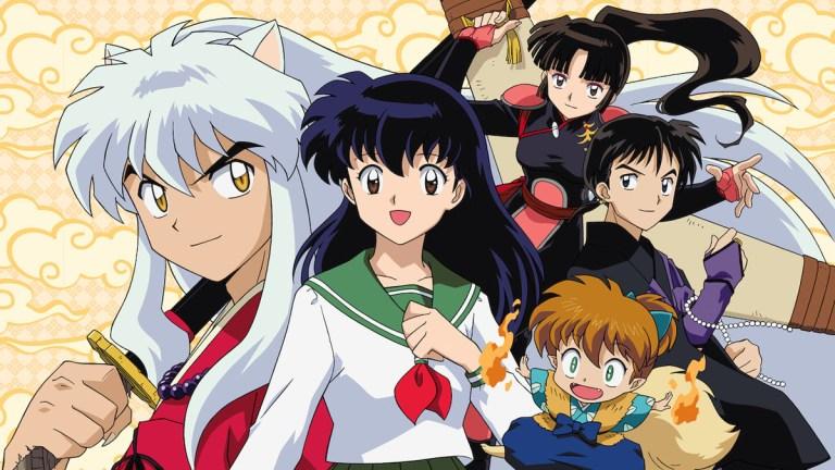 InuYasha Full Cast Header Image