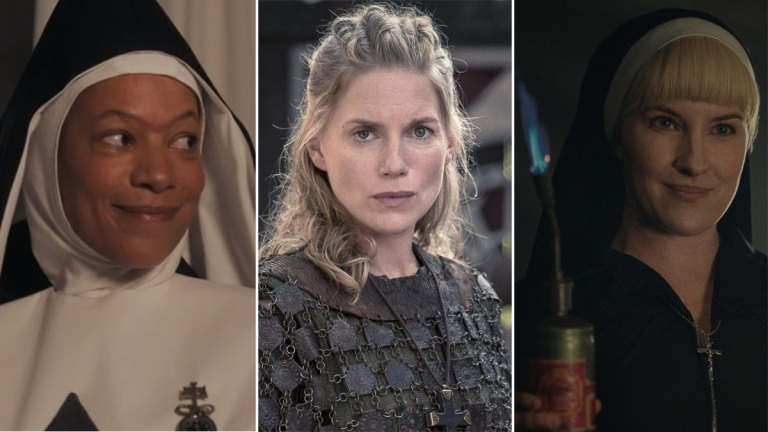 Good Omens The Last Kingdom Hunters Nuns