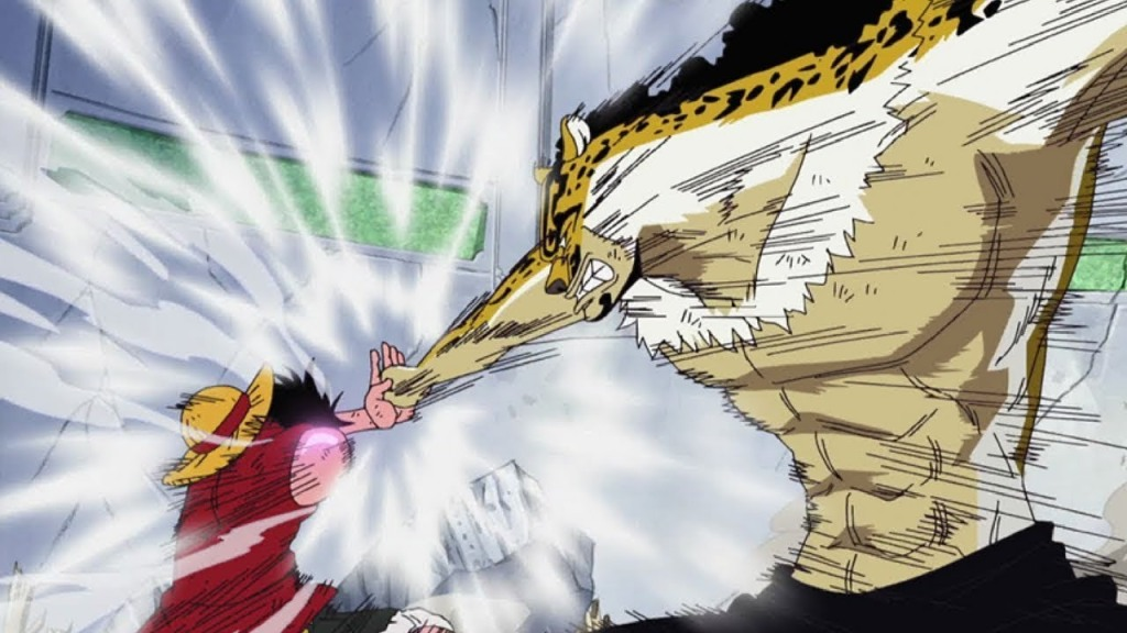 "One Piece - ""Fists Full of Emotion! Luffy Unleashes Gatling with All His Might!"""