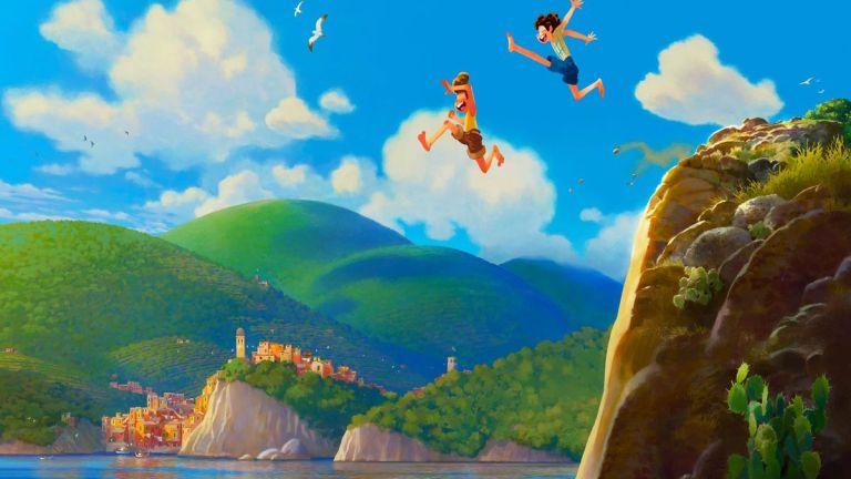 Pixar's Luca Concept Art
