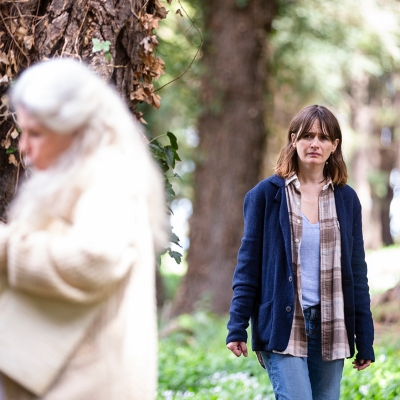 Robyn Nevin and Emily Mortimer in Relic