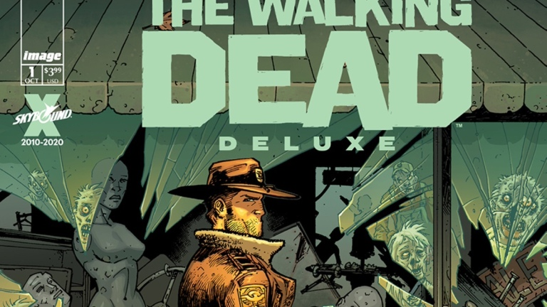 The Walking Dead Deluxe Cover