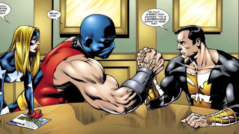 Atom Smasher and Black Adam