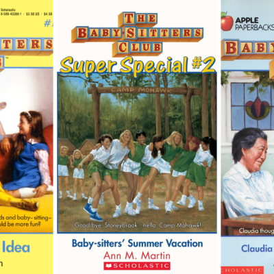 Baby-Sitters Club Book Covers