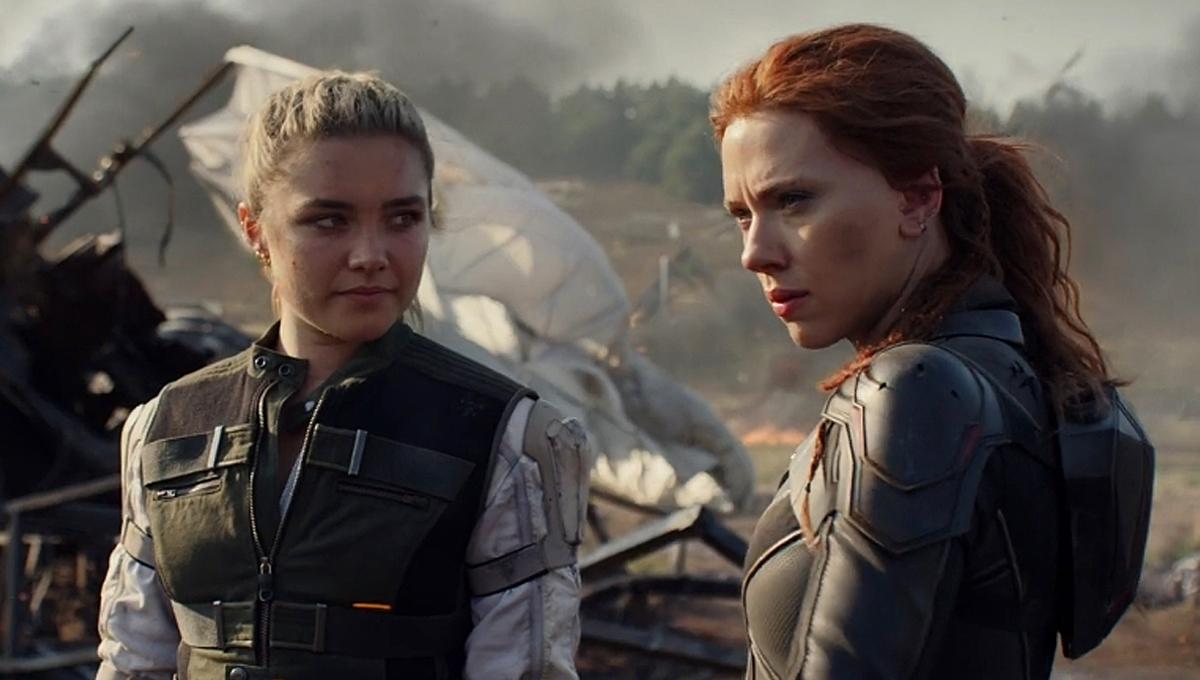 Florence Pugh Black Widow Scarlett Johansson