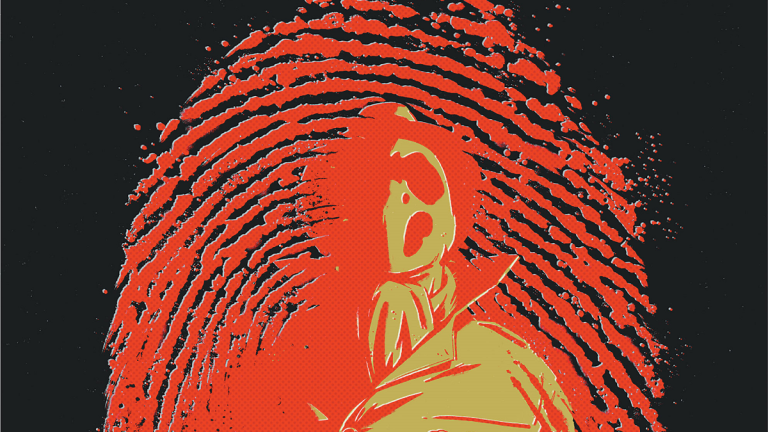 DC Comics Watchmen Sequel: Rorschach #1 Cover
