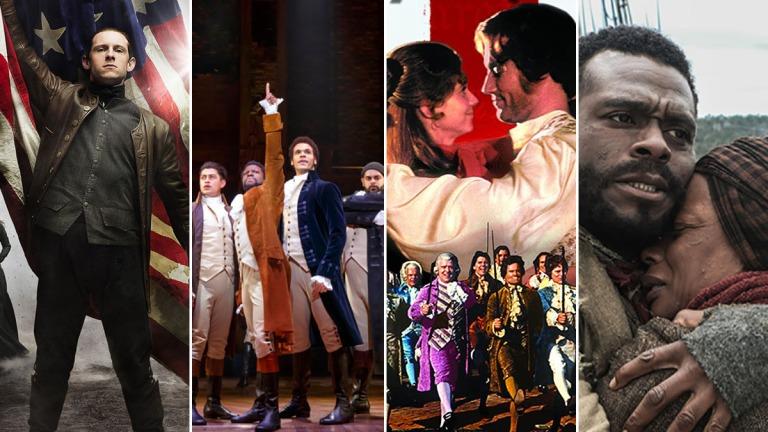 Hamilton and American Revolution Movies