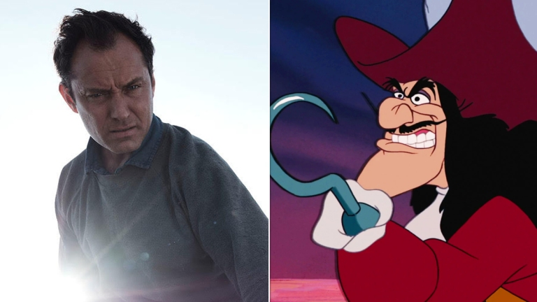 Jude Law Eyed To Play Captain Hook In Peter Pan Live Action Disney Movie Den Of Geek