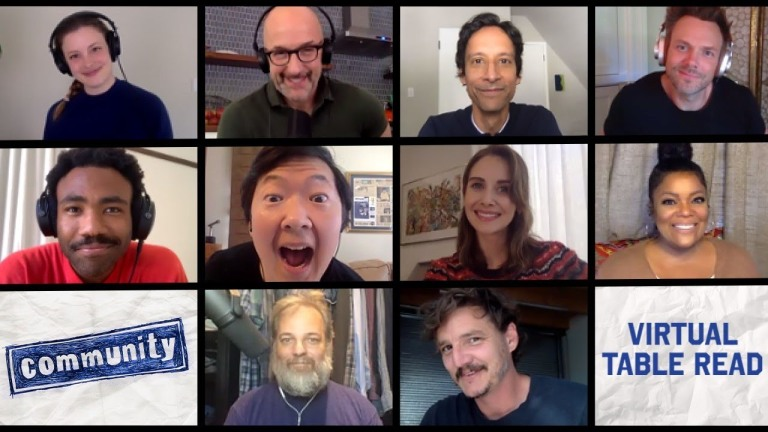 Community Cast Reunion 2020 Zoom Call