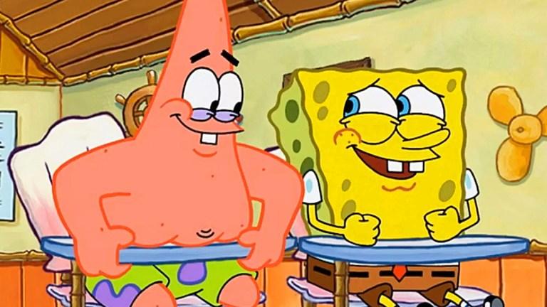 Patrick and SpongeBob on SpongeBob SquarePants