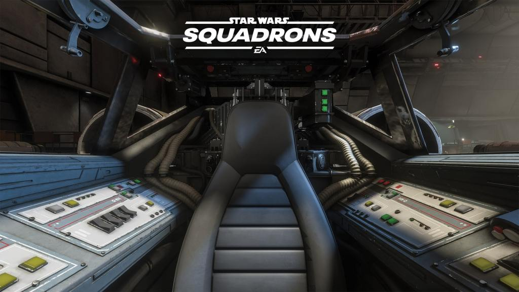 Star Wars: Squadrons Zoom Background Cockpit