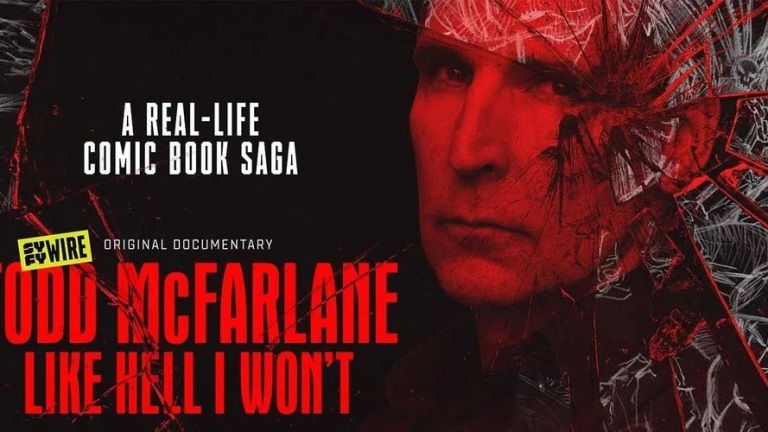 Promo Image For Todd McFarlane: Like Hell I Won't