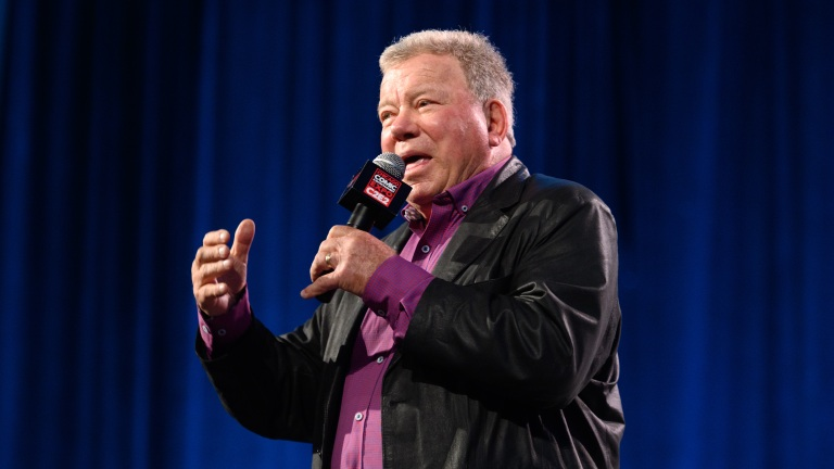 William Shatner on Stage at C2E2Daniel Boczarski/Getty Images
