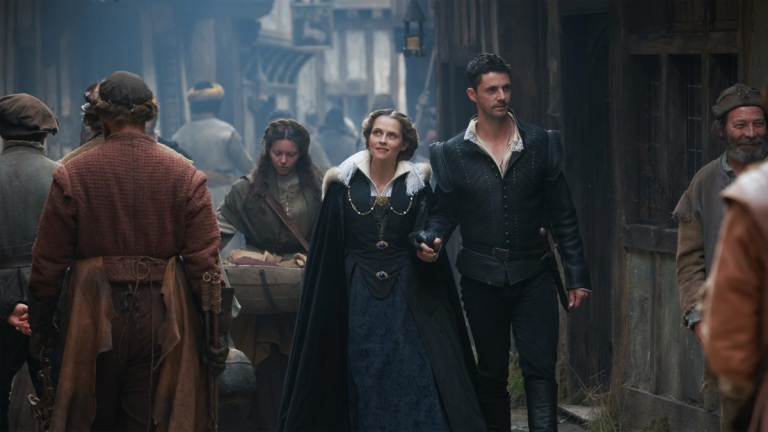 Teresa Palmer and Matthew Goode in A Discovery of Witches series 2