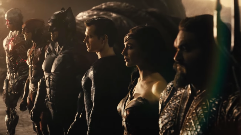 Justice League Snyder Cut Team Roster